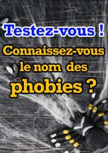 Connaissez-vous le nom des phobies grâce à leur définition ?