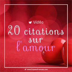 20 citations choisies sur l'amour